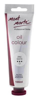 MPO0035 MM Oil Paint 100mls - Zinc White