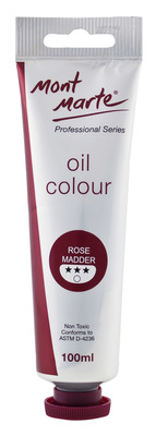 MPO0039 MM Oil Paint 100mls - Rose Madder