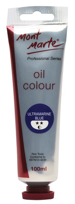 MM Oil Paint 100mls - Ultramarine Blue MPO0016
