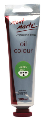 MPO0020 MM Oil Paint 100mls - Green Light
