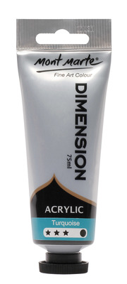 PMDA0024 MM Dimension Acrylic 75mls - Turquoise