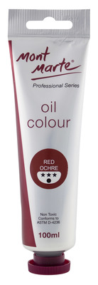 MM Oil Paint 100mls - Red Ochre MPO0045