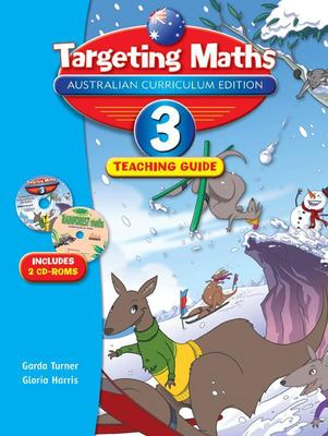 Targeting Maths ACE Year 3 Teaching Guide incl 2 CD Roms - Pascal