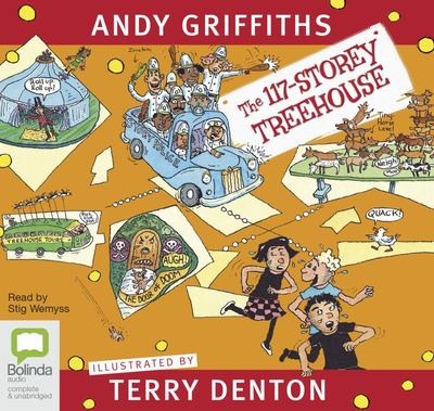 The 117-Storey Treehouse (Audio CD)