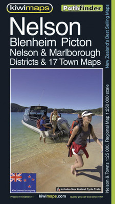 Nelson Blenheim Picton Map