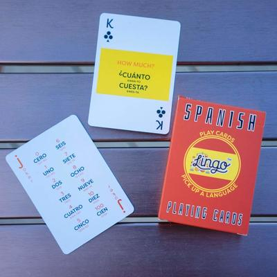 Spanish Playing Cards - Lingo