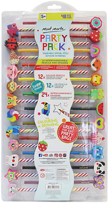MM Pencil and Eraser Set 48pc MMKC0196