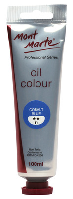 MPO0015 MM Oil Paint 100mls - Cobalt Blue