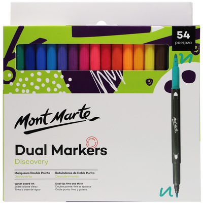 MM Dual Markers 54pc MMPM0019