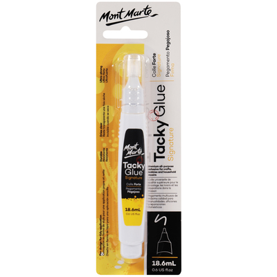 Large mont marte signature tacky glue 19.6ml macr0037 v01 f