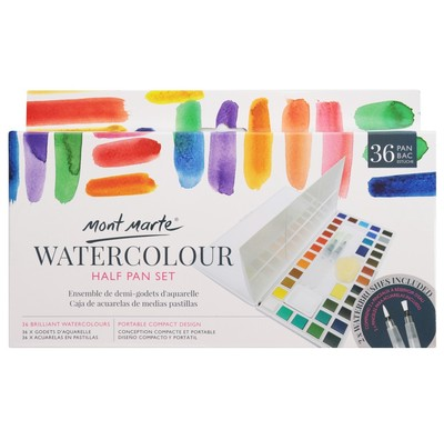 MM Watercolour Half Pan Set 41pc PMHS0037