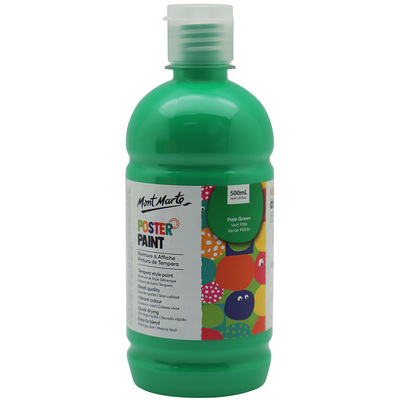 MPST0022 MM Poster Paint 500ml - Pale Green