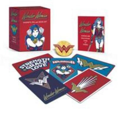 MK Wonder Woman - Magnets, Pin