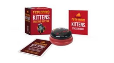 MK Exploding Kittens: Talking Button