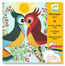 Iris Paper Folding: Birds