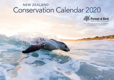 New Zealand  Conservation 2020 Calendar