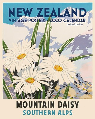 New Zealand Vintage Posters 2020 small Calendar
