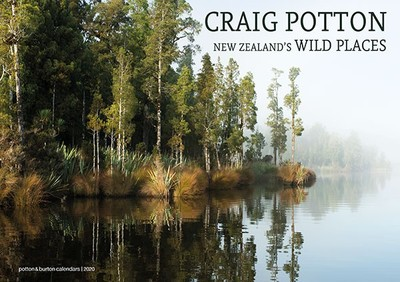 New Zealands  Wild Places 2020 Calendar