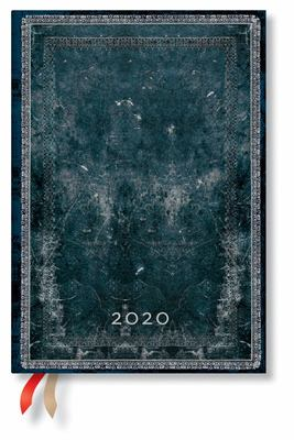 Diary - 2020 - Midnight Steel HC Midi Verso Week-at-a-Time