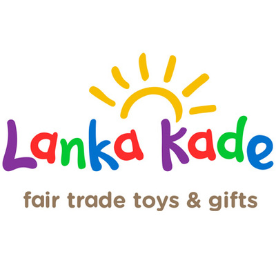 A: Fairtrade Wooden Animal Letter