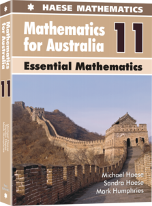 Mathematics for Australia 11 Essentials Mathematics - Haese