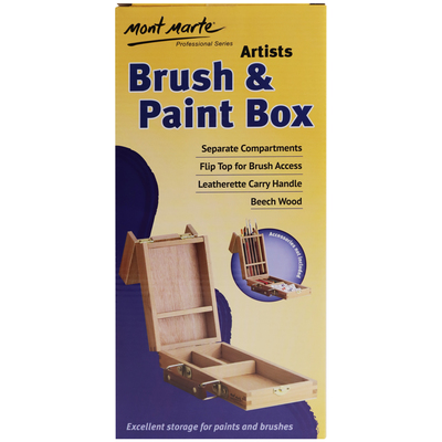 Small Brush/Paint Box MCG0003