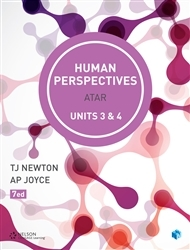 Human Perspectives ATAR Units 3 & 4 7Ed with code - Cengage