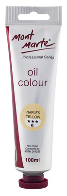 MPO0036 MM Oil Paint 100mls - Naples Yellow