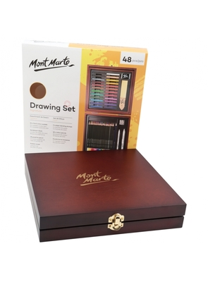 Large mont marte signature drawing set 48pce mmgs0019 v04 1