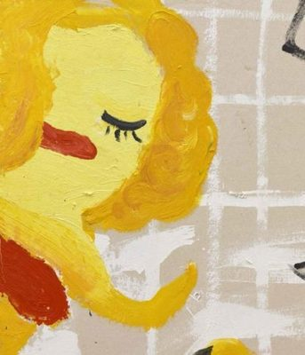 Rose Wylie - Lolita's House