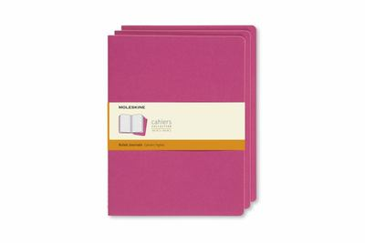 Cahier Set of 3 Ruled Extra Large Kinetic Pink