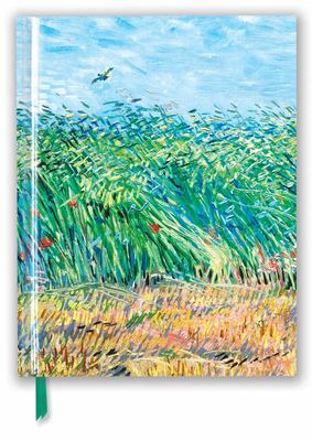Vincent Van Gogh: Wheat Field with a Lark (Blank Sketch Book)