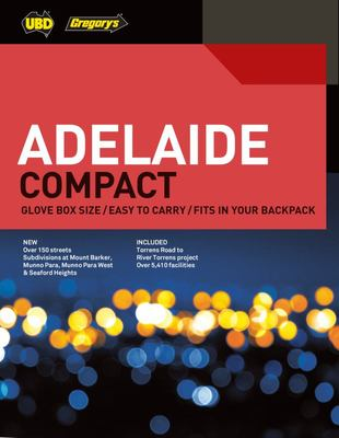 Adelaide Compact Street Directory 2020 11th Ed