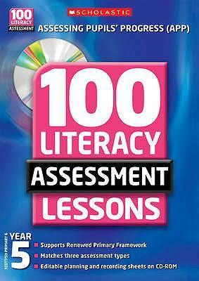 100 Literacy Assessment Lessons Year 5 with CD-ROM