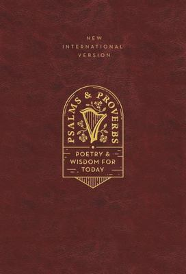 NIV, Psalms and Proverbs, Leathersoft over Board, Burgundy, Comfort Print - Poetry and Wisdom for Today