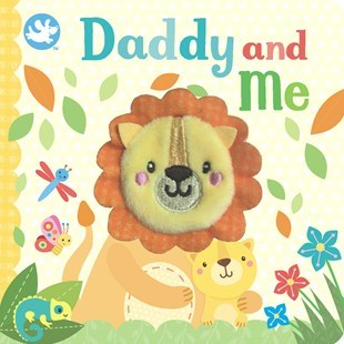 Little Me Finger Puppet Book Daddy and Me