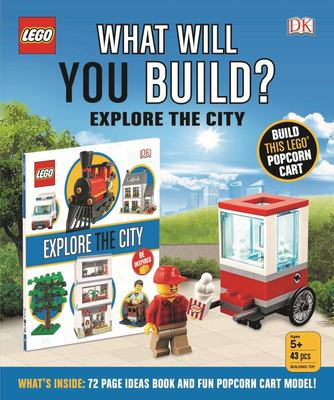 Lego What Will You Build? Explore The City