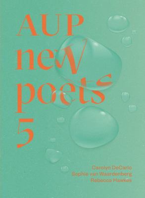 AUP New Poets 5, edited by Anna Jackson