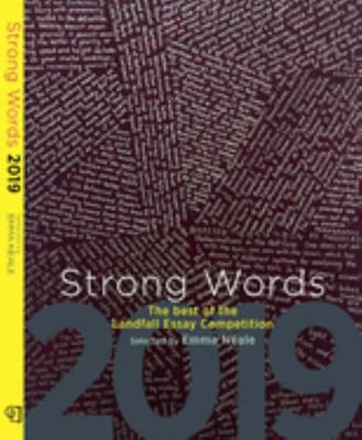 Strong Words 2019 - The Best of the Landfall Essay Competition