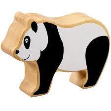 Wooden Panda