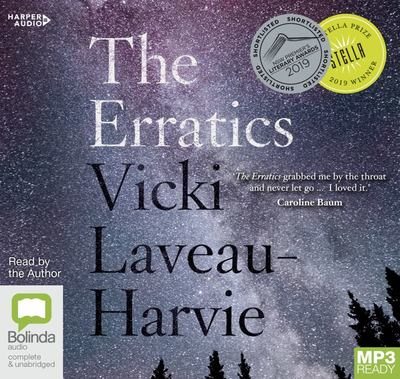 The Erratics (MP3) 2019 Stella Prize Winner (MP3 Audio CD)