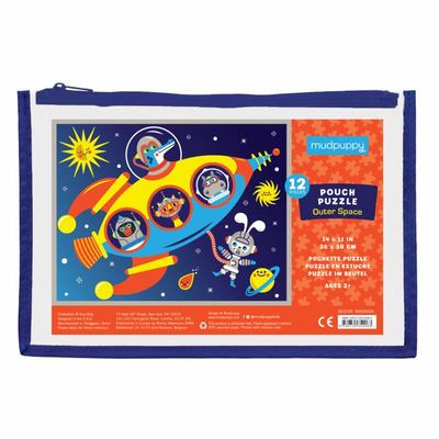 Outer Space Pouch Puzzle