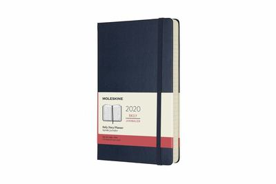 Moleskine 2020 Hard Diary Large Blue