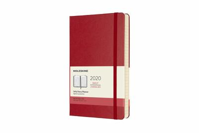 2020 Daily Red Large Hard Diary Moleskine