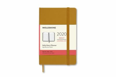 2020 Daily Ripe Yellow Pocket Hardcover Diary Moleskine