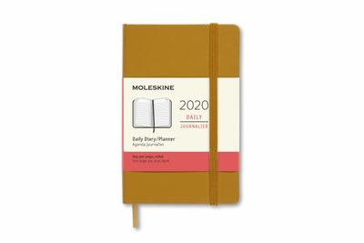 2020 Daily Ripe Yellow Large Hardcover Diary Moleskine