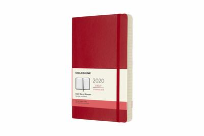 2020 Daily Scarlet Red Large Softcover Diary Moleskine
