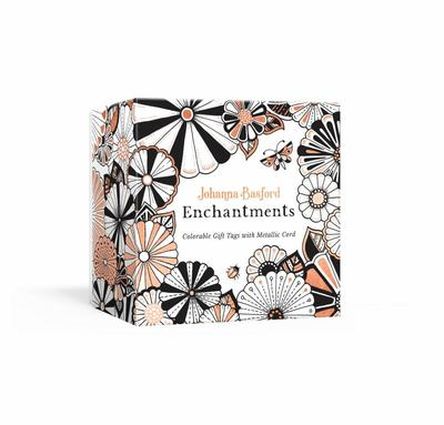 Johanna Basford: Enchantments (Colorable Gift Tags with Metallic Cord)