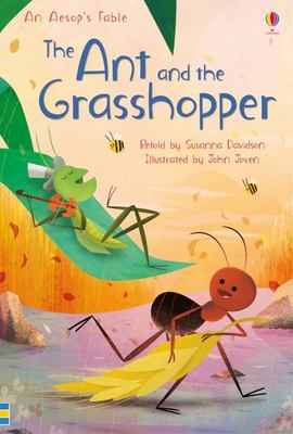 The Ant and the Grasshopper: First Reading Lv 3