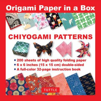 Chiyogami Patterns (Origami Paper in a Box)